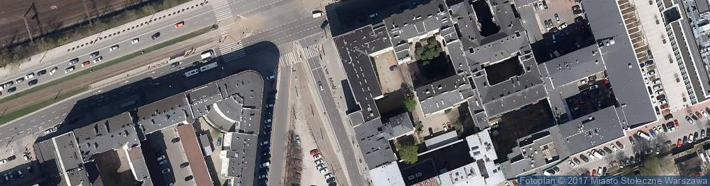 Zdjęcie satelitarne Biuro Wirtualne Warszawa