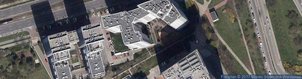 Zdjęcie satelitarne Gdański