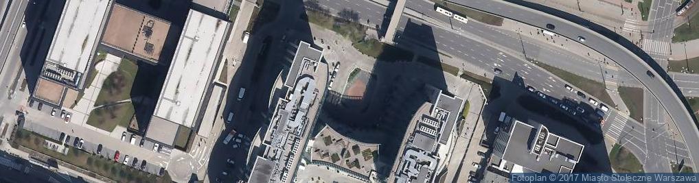 Zdjęcie satelitarne New City - centrum biznesowe