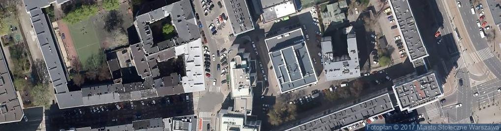 Zdjęcie satelitarne Znak Centrum Komputerowe