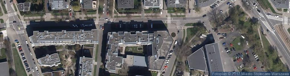 Zdjęcie satelitarne Żoliborz Plaza