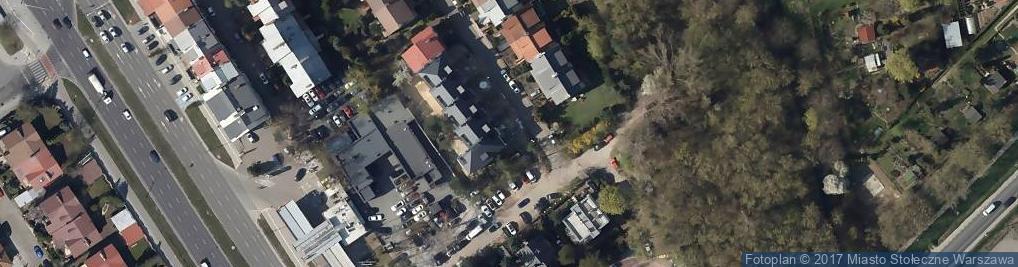 Zdjęcie satelitarne BMW Serwis Osowiecki