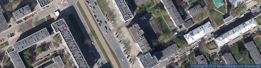 Zdjęcie satelitarne BOŚ - Oddział