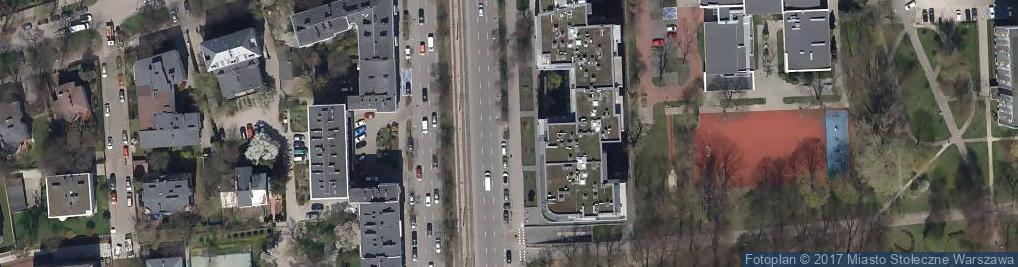 Zdjęcie satelitarne Oddział BOŚ