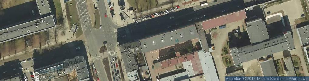 Zdjęcie satelitarne BRC - Serwis instalacji gazowych