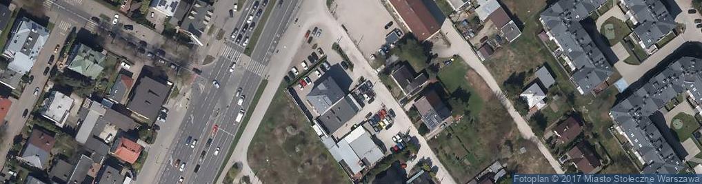 Zdjęcie satelitarne BK Dźwig