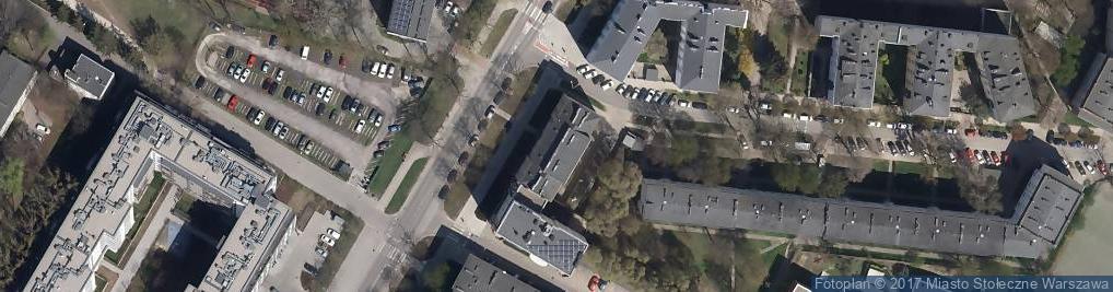 Zdjęcie satelitarne Darbud Drewniak Dariusz
