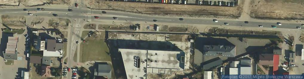 Zdjęcie satelitarne Dolcan Szczecin