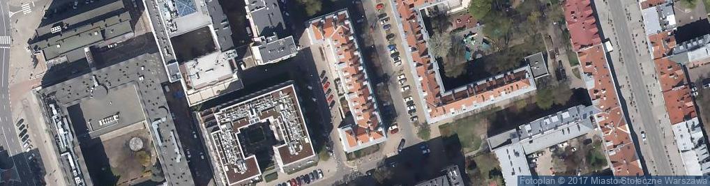 Zdjęcie satelitarne Ebos Zakład Ogólnobudowlany