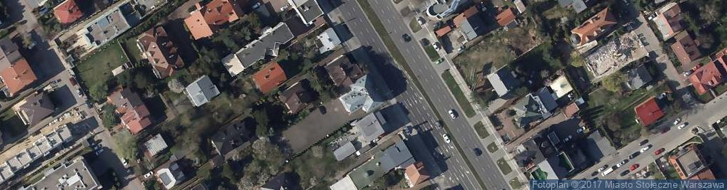Zdjęcie satelitarne Efh Budownictwo