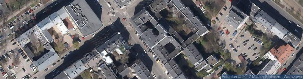 Zdjęcie satelitarne Elsam Baroniewski Sławomir Daab Marek