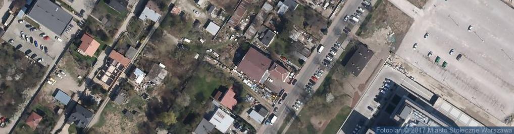 Zdjęcie satelitarne Europ Haus