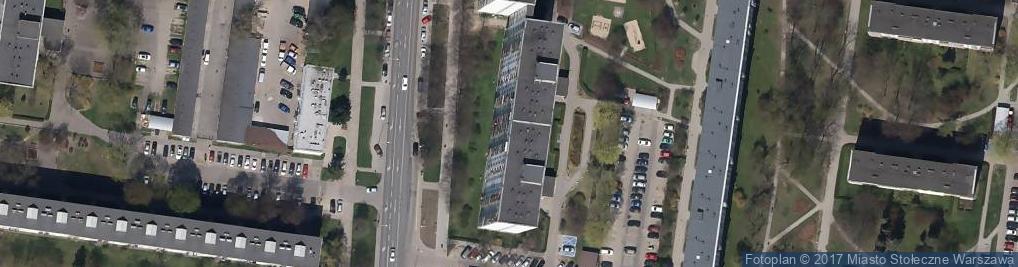 Zdjęcie satelitarne Firma Projektowo- Budowlana Drosan Brunon Tryniszewski Wspólnik Spółki Cywilnej