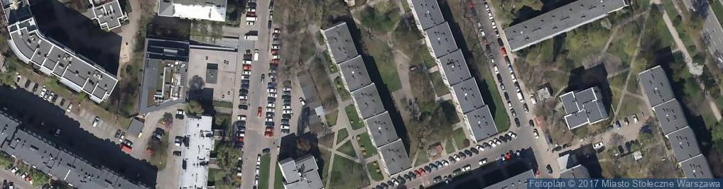 Zdjęcie satelitarne Firma Remontowo Budowlana Rob Bud