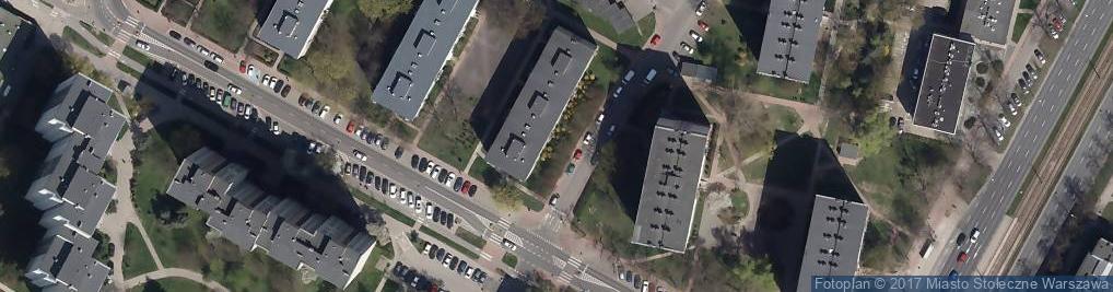 Zdjęcie satelitarne KRAMBUD ZAKŁAD OGÓLNOBUDOWLANY KRZYSZTOF RĘBKOWSKI