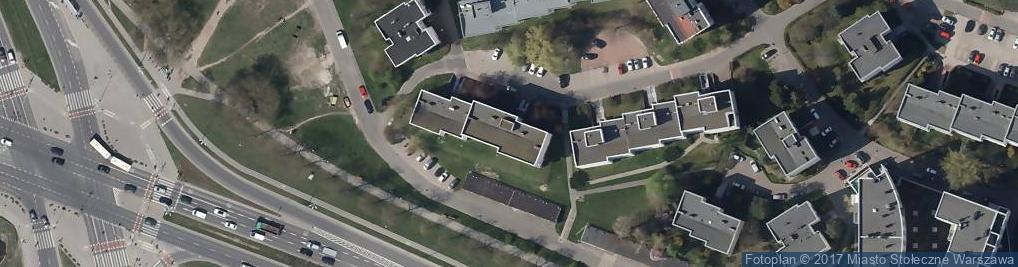 Zdjęcie satelitarne Krypska
