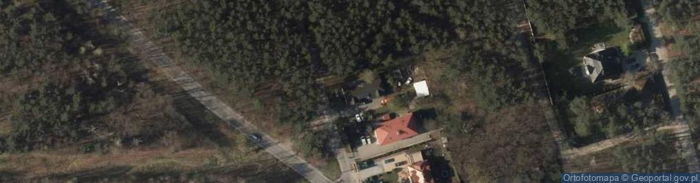 Zdjęcie satelitarne Margbud Przedsiębiorstwo Remontowo Wykończeniowe Marcin Ciski Grzegorz Parzuchowski