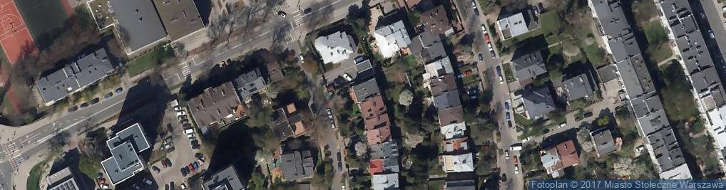 Zdjęcie satelitarne Osiedle Dąbrowa
