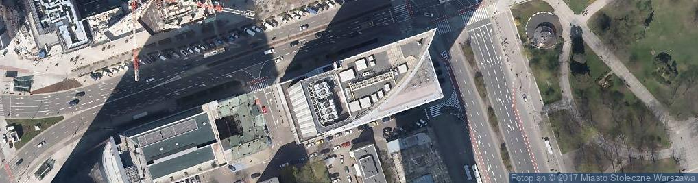 Zdjęcie satelitarne PDM Development pod Platanami