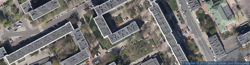 Zdjęcie satelitarne Posadzkarstwo SP Cyw Szczęch Edward Świderski Tadeusz