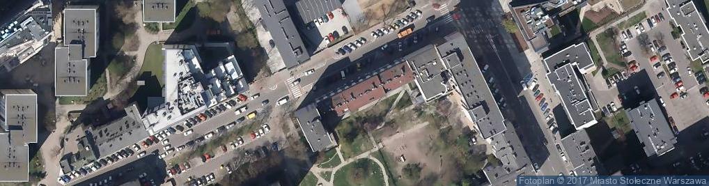 Zdjęcie satelitarne Spółdzielnia Budowlano Mieszkaniowa A i B