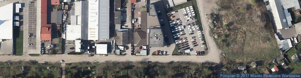 Zdjęcie satelitarne Texbud