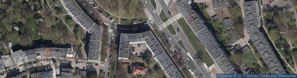 Zdjęcie satelitarne Wabud Budownictwo Ogólne