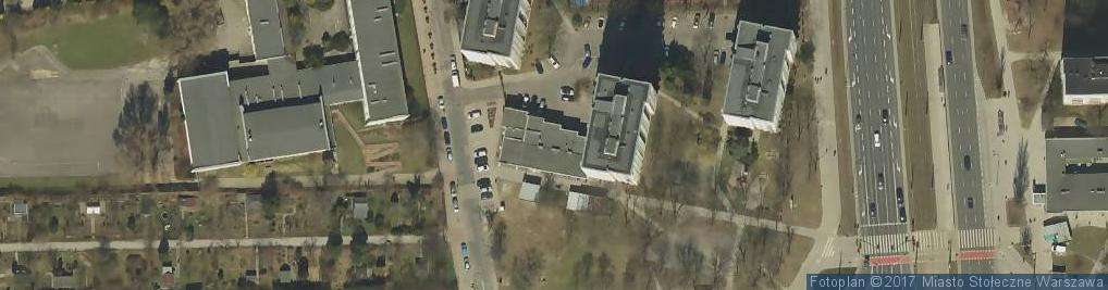 Zdjęcie satelitarne Carrefour Express