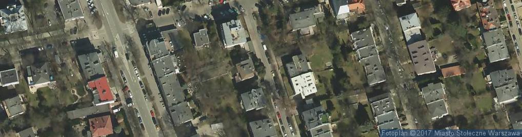 Zdjęcie satelitarne Linia Dobrego Smaku