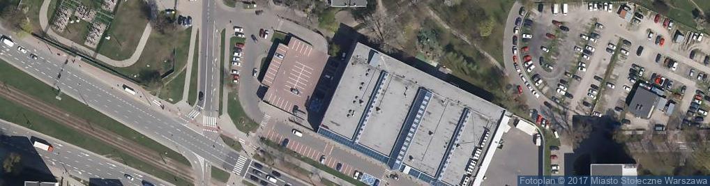 Zdjęcie satelitarne Galeria Żoliborz