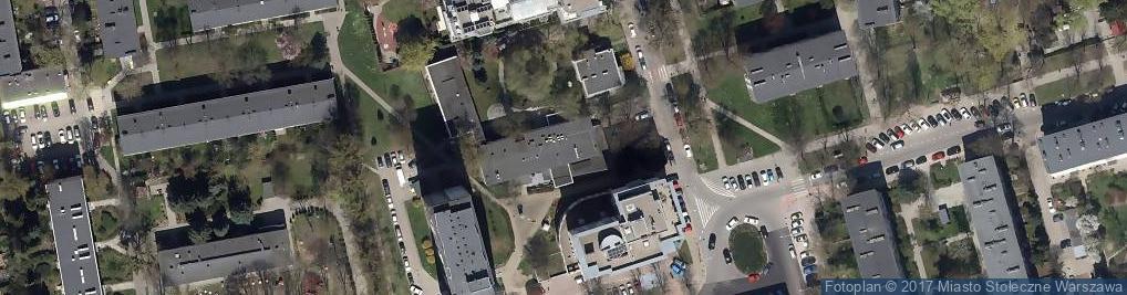 Zdjęcie satelitarne Centrum Edukacyjno Kulturalne Łowicka