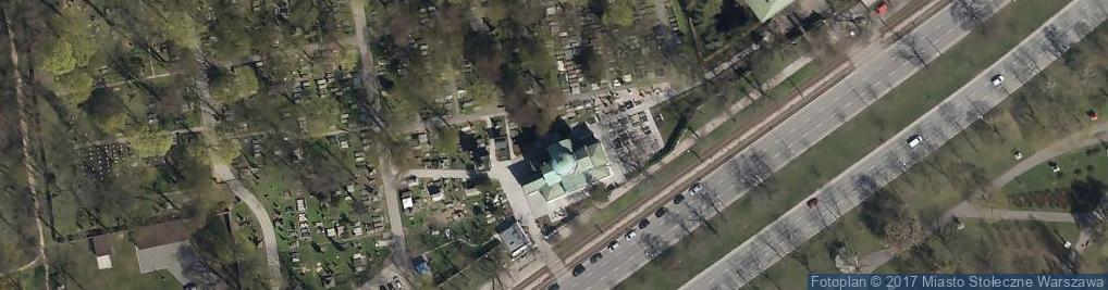 Zdjęcie satelitarne św. Jana Klimaka