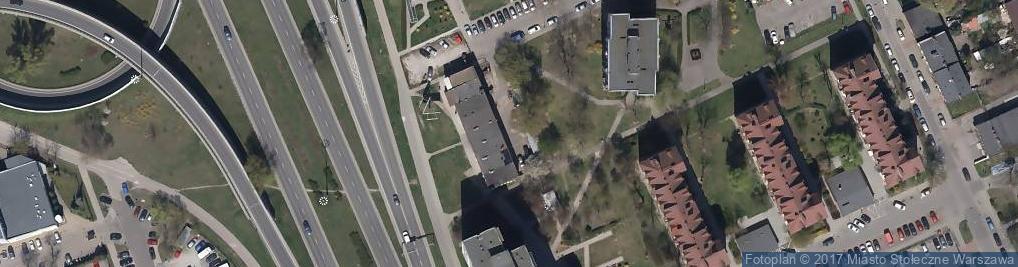 Zdjęcie satelitarne Chorten - Sklep