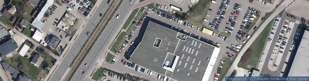 Zdjęcie satelitarne FIRMOWY SALON I SERWIS CITROËN POLSKA sp. z o.o. KRAKOWSKA