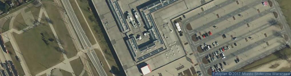 Zdjęcie satelitarne City Sport