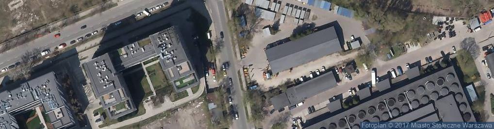 Zdjęcie satelitarne Cramo Warszawa Minska