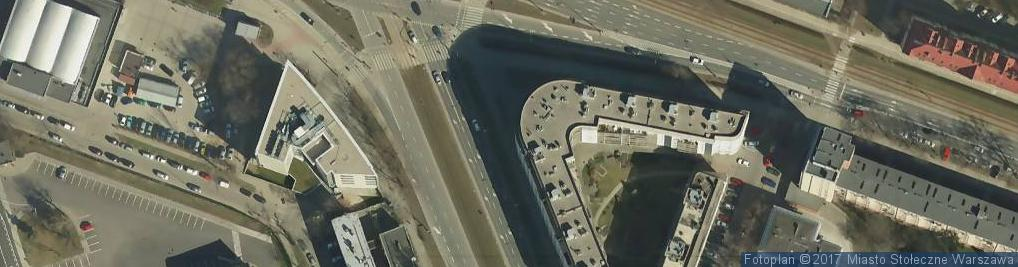 Zdjęcie satelitarne Credit Agricole - Oddział