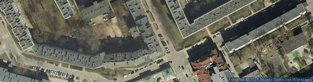 Zdjęcie satelitarne Magodent