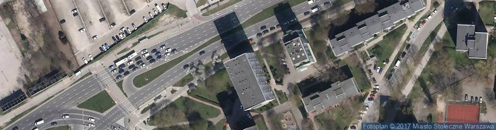 Zdjęcie satelitarne Praktyka Stomatologiczna Izabela Dobrowolska