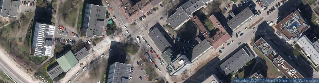 Zdjęcie satelitarne Przychodnia Protetyczno-Stomatologiczna Grażyna Kwaśniewska Wspólnik Spółki Cywilnej