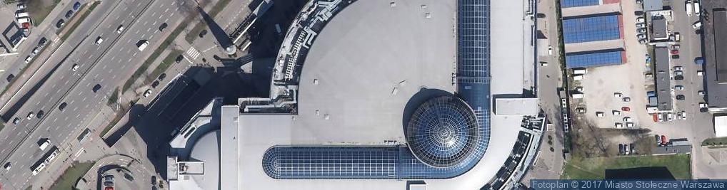 Zdjęcie satelitarne DHL ServicePoint