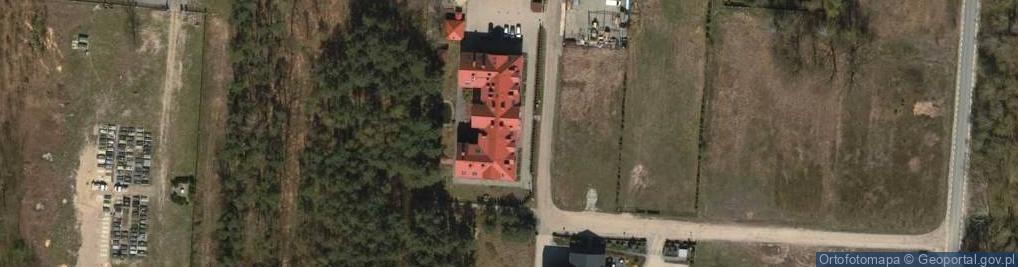 """Zdjęcie satelitarne Zakład Pielęgnacyjno-Opiekuńczo-Rehabilitacyjny """"Maria&quot"""