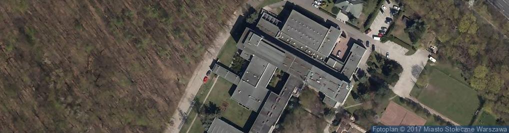 Zdjęcie satelitarne Dom Rekolekcyjno-Formacyjny