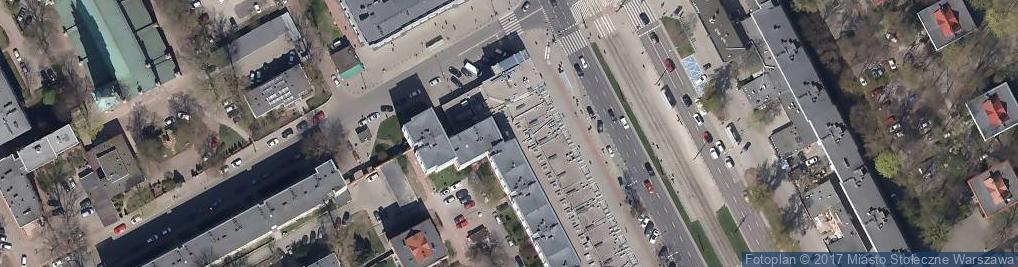 Zdjęcie satelitarne Domino's Pizza