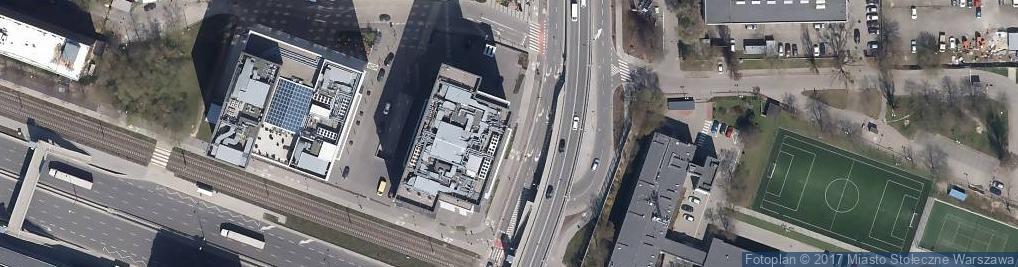 Zdjęcie satelitarne Centrum Druku Cyfrowego