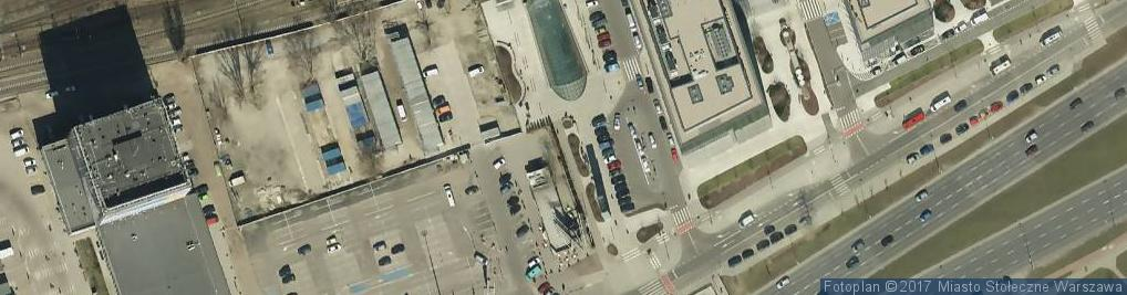 Zdjęcie satelitarne Warszawa Zachodnia