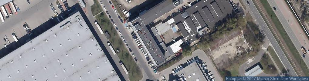 Zdjęcie satelitarne InnComm sp. z o.o.