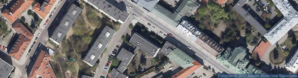 Zdjęcie satelitarne Siedziba Władz Naczelnych Kościoła Ewangelicko-Augsburskiego