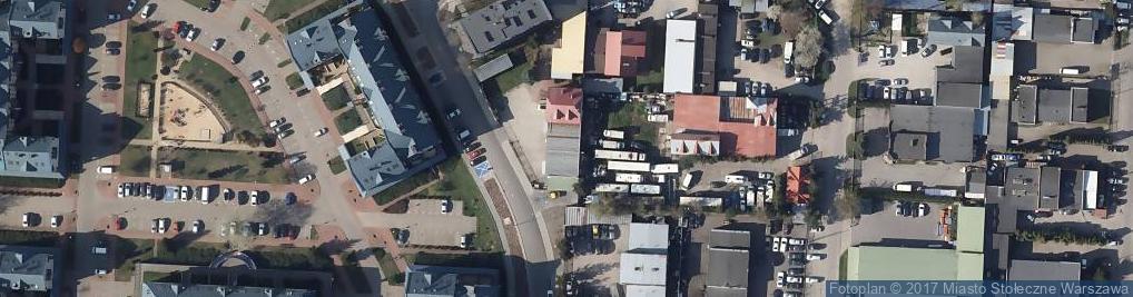 Zdjęcie satelitarne Cosmedica HF Sp. z o.o.