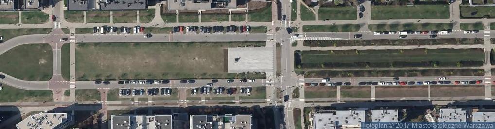 Zdjęcie satelitarne Fontanna